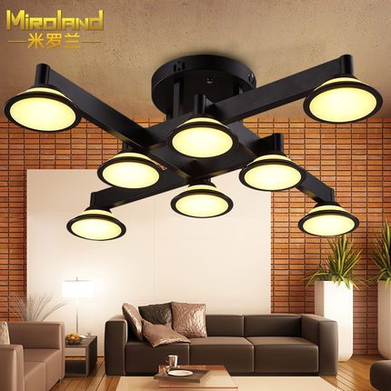 American style modern brief vintage ceiling light bar counter lamp personalized bedroom lights