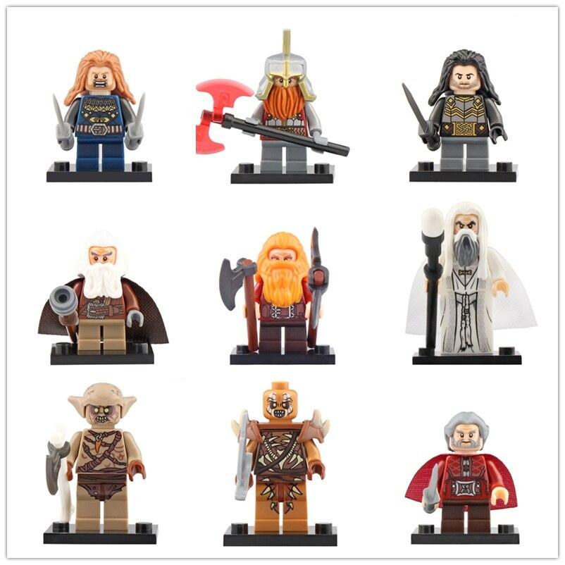 Legoed Lord Of The Rings Building Blocks Figures Fili Ironfoot Dain Goblin Dori Minifigured Model Bricks Children Gift Toys
