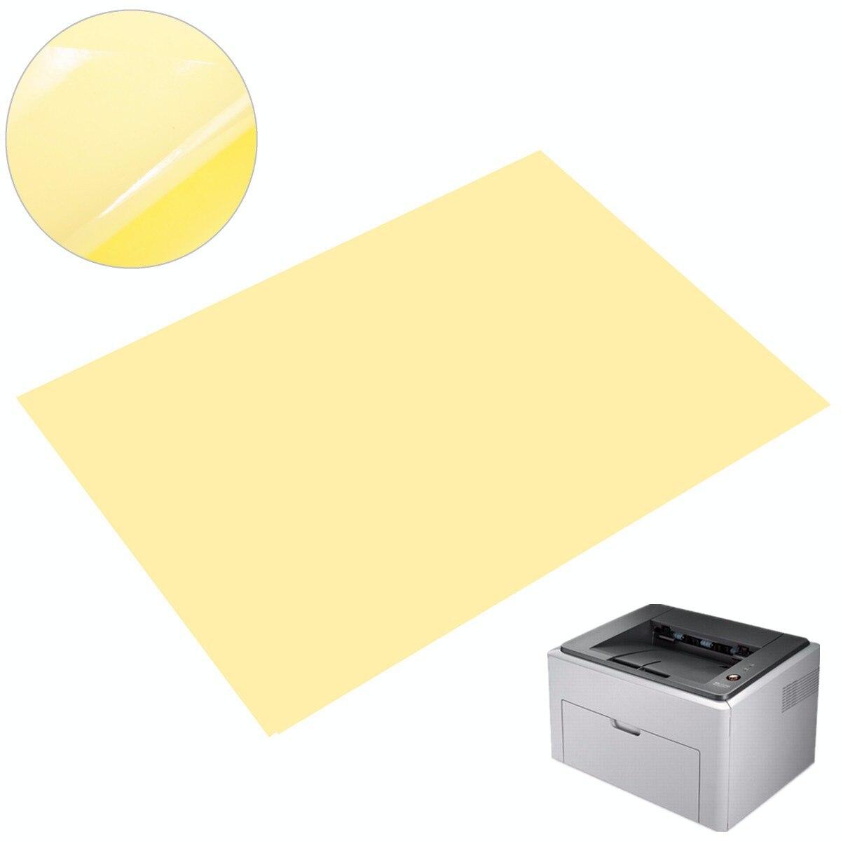 50pcs A4 PVC Sticker Vinyl Self Adhesive Sticker Paper Transparent Clear Sticker For Laser Printer Lamination Film Paper
