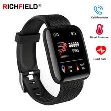 Smart Watch Blood pressure Measurement Heart Rate Monitor Call Reminder SmartBand Health Wristband Smart Band Fitness Bracelet недорого