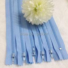 Pcs Nylon bobina cremalleras Tailor herramientas de costura Craft 9 pulgadas de color azul