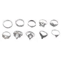 10pcs/Set Vintage Bohemian Ring Set (Less than 1$ each) 2