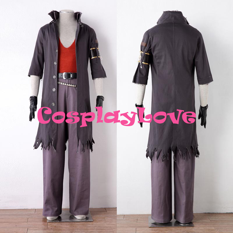 High Quality Stock Japanese Game Final Fantasy XIII 2th Snow Villiers Cosplay Costume For Halloween Christmas CosplayLove