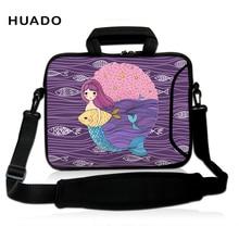 laptop shoulder bag for women Neoprene Protect Cover For 10 12 13 14.1 15 inch Tablet Notebook Laptop Bag 15.6 13.3 10.6 10.1 PC цена