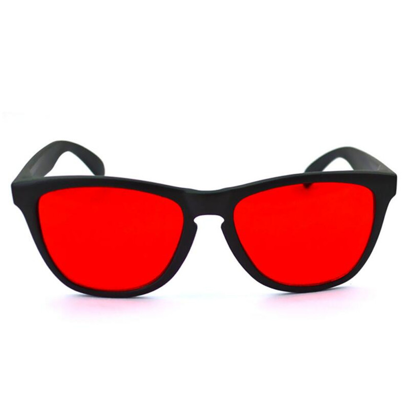 ZXTREE Red Green Color Blind Corrective Glasses Women Men Color blindness Glasses Colorblind Test driver s