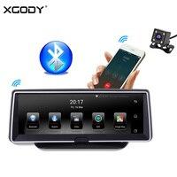 Xgody 8 ''Автомобильный Dvr Gps Navigatior 3G Android 5,0 приборной панели навигации 1920 x Wi Fi, две камеры P 1 + 16 ГБ Bluetooth 2018 1080 ЕС географические карты