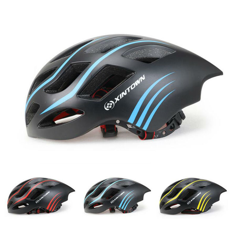 Ultralight Road Bike Cycling Helmet Integrally-molded Capacete Casco Ciclismo Cycling Equipment MTB Bicycle Helmets 260G 54-60cm new bicycle helmets sunglasses cycling glasses 3 lens integrally molded men women mountain road bike helmets 56 62cm