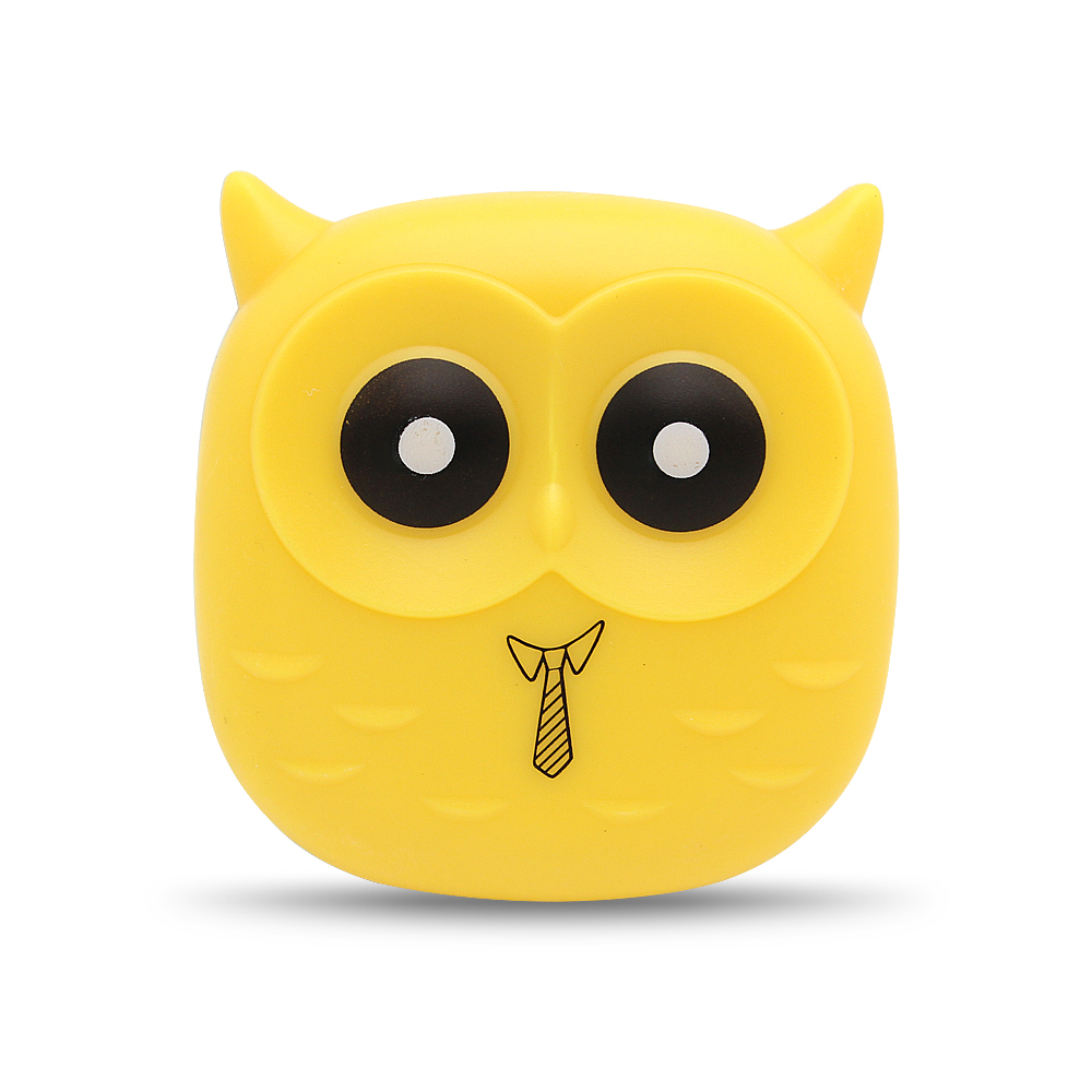 New Cute Owl LED Night Light Auto Sensor Light Control Lamp EU Plug 220V For Child Kids Baby Lighting Room Animal Bulb