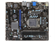 Free shipping 100% original motherboard for MSI H61M-E33(B3) DDR3 LGA 1155 H61 16GB Integrated H61M-E33 Desktop motherborad