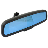 Car Vehicle 12V 4.3Inch High Definition Display Screen Car Highlight Rearview Mirror Screen Automatic Dimming AV1/AV2 Videoinput