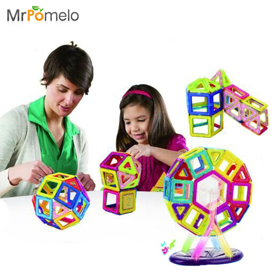 Mini Similar Magnetic Kids Toys 32Pcs/Lot Model Building Toy Blocks Learning & Education Children Toys Blocks Bricks tri fidget hand spinner triangle metal finger focus toy adhd autism kids adult toys finger spinner toys gags