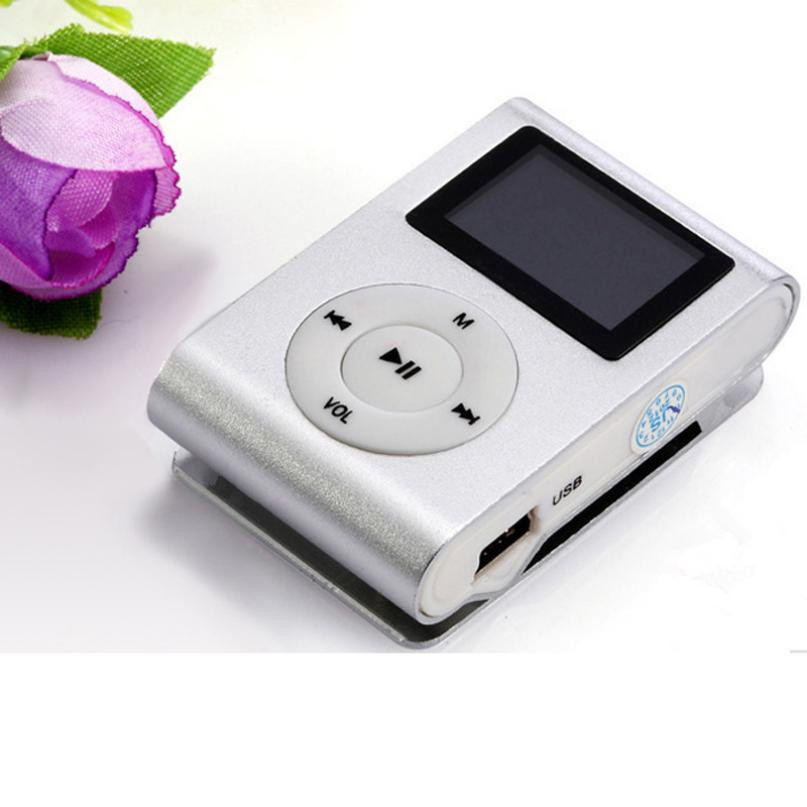 New LCD Screen Mini Clip Mp3 Player Electronic Products