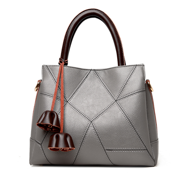 ФОТО Hot Selling Genuine Leather Handbags New Brand Messager Bags Casual Tote Solid Zipper Hnadbags