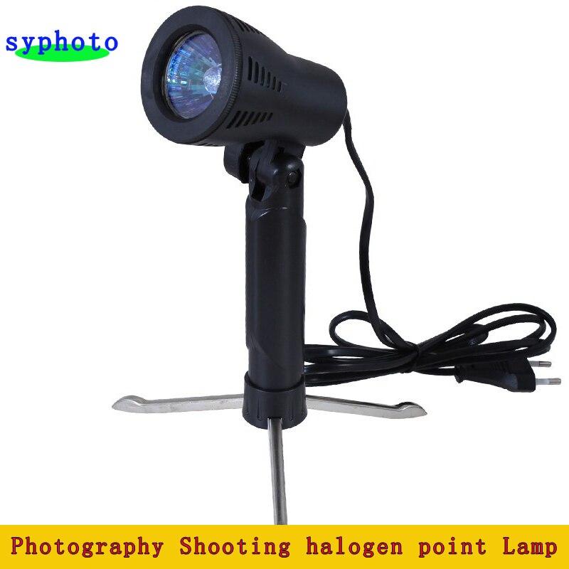 220 V 50 W estudio fotográfico portátil de escritorio luz Shooting de la fotogra