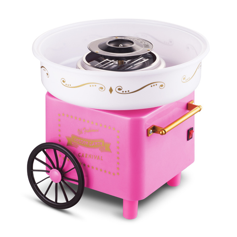 Electric DIY Sweet cotton candy maker mini portable candy Floss Spun Sugar machine girl boy kids gift 500w children's day EU US