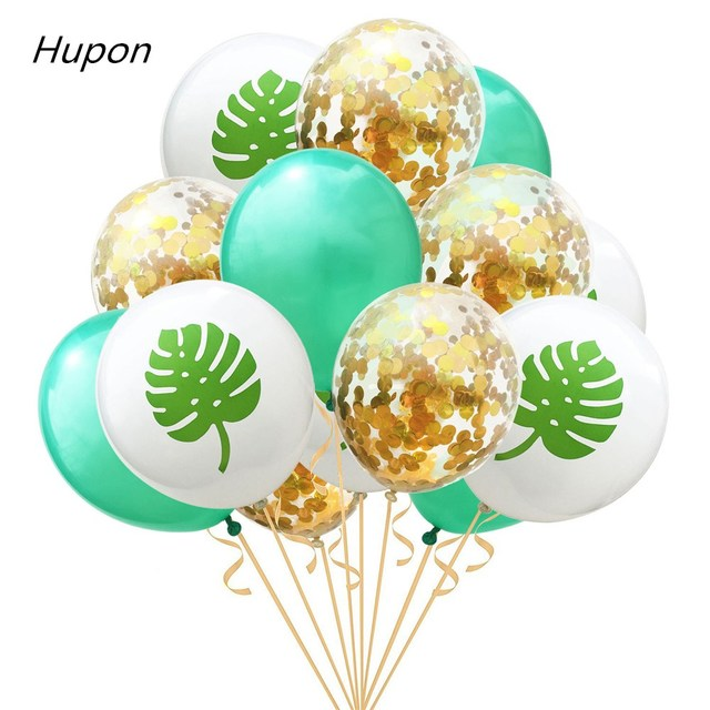 15Pcs Latex Confetti Ballon Mermaid Flamingo Unicorn Balloons Birthday Party Decorations Kids Unicornio Babyshower Boy Supplies