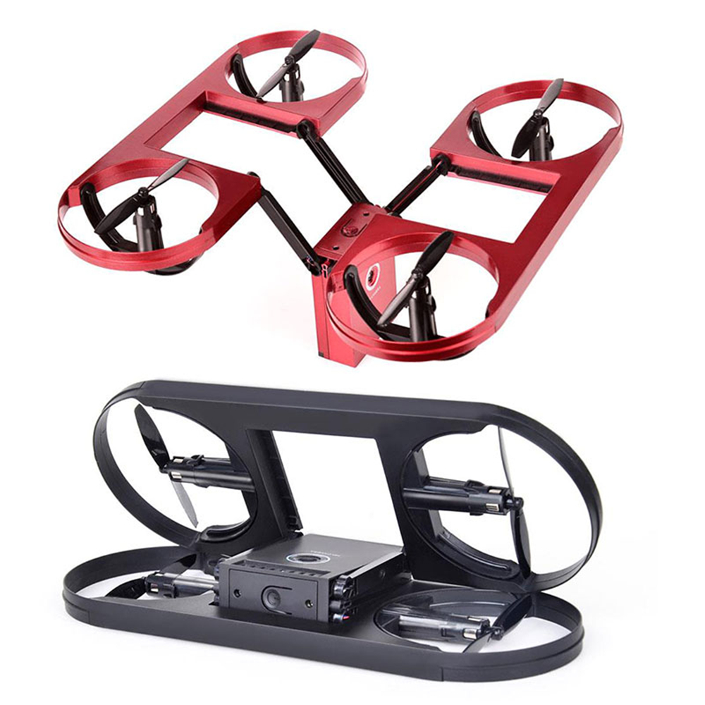 2.4GHz Mini Folding 4 Channel 6 Axis Gyro FPV HD 2.0MP Camera Altitude Hold Headless Mode APP Remote Quadcopter Aircraft Drone mjx x601h wifi fpv 720p cam air pressure altitude hold 2 4ghz app control 4 channel 6 axis gyro hexacopter 3d rollover