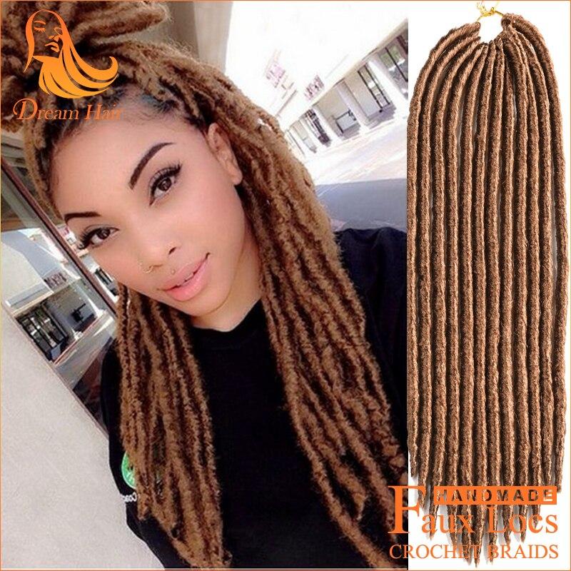 Faux Locs Dread Crochet Braid Hair Dreadlock 18 Inch 27