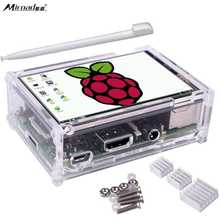 Wholesale prices Miroad 3.5 inch 320×480 Resolution TFT LCD Display with Protective Case + 3 x Heat sinks+ Touch Pen for Raspberry Pi Model SC11