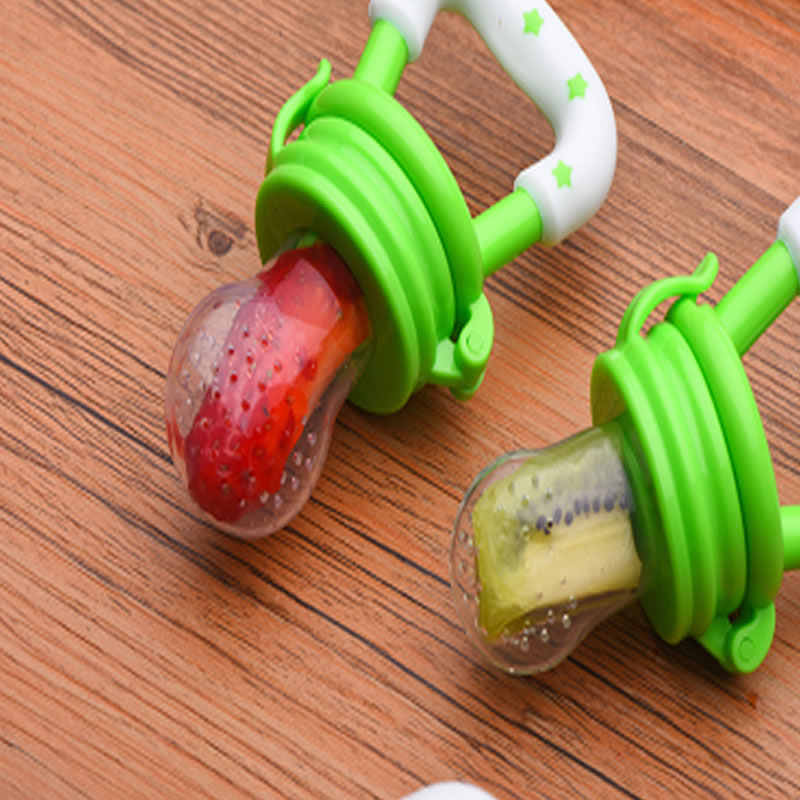 """Bebê recém-nascido chupeta comida fresca alimentador de frutas segurança bebê suplemento alimentar """"equipamento feijão mamilo mamilo garrafa"""