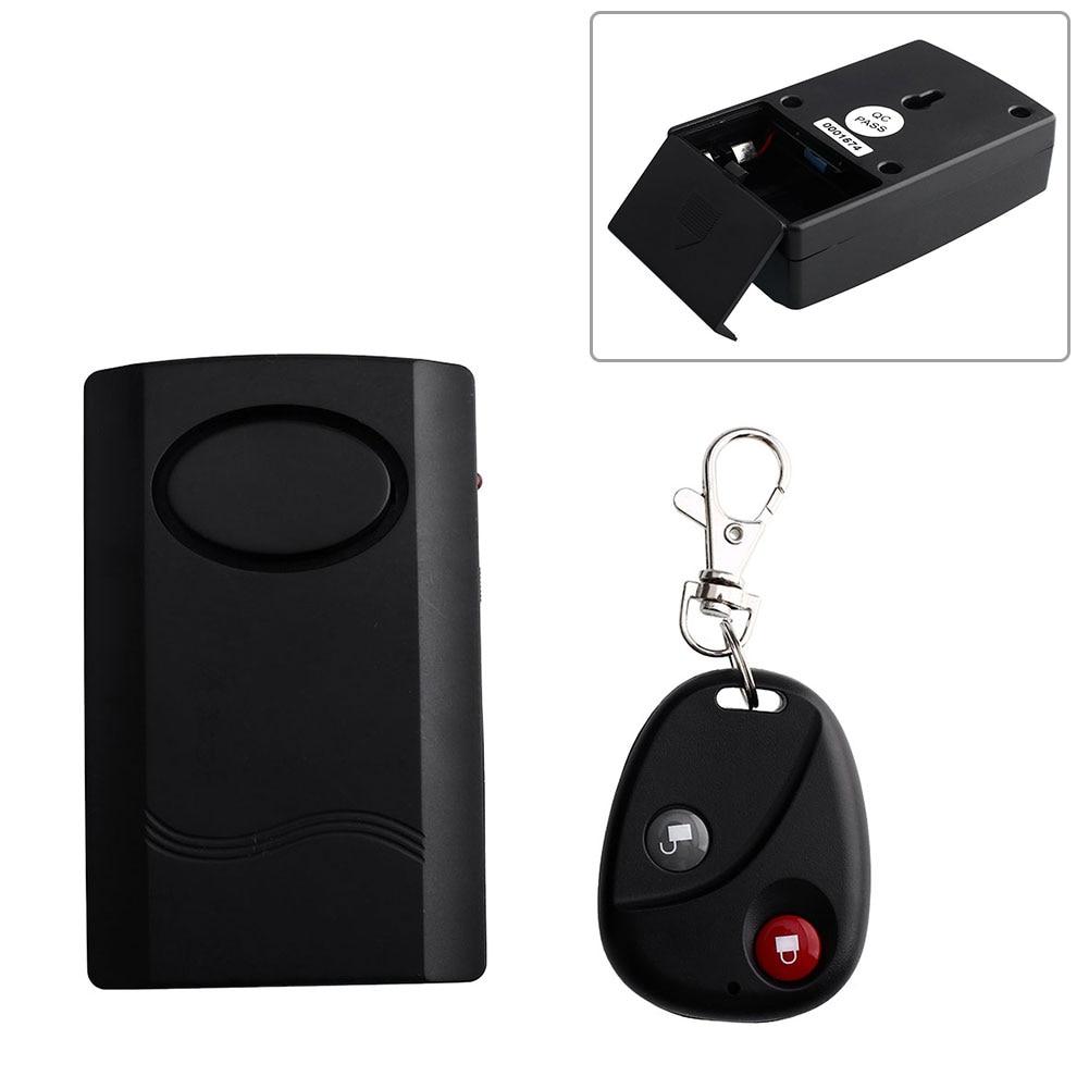 OEM 120db Alarma Auto Motorcycles Anti Theft Security Alarm Lock System W/Remote Black Central Locking Car Alarm System