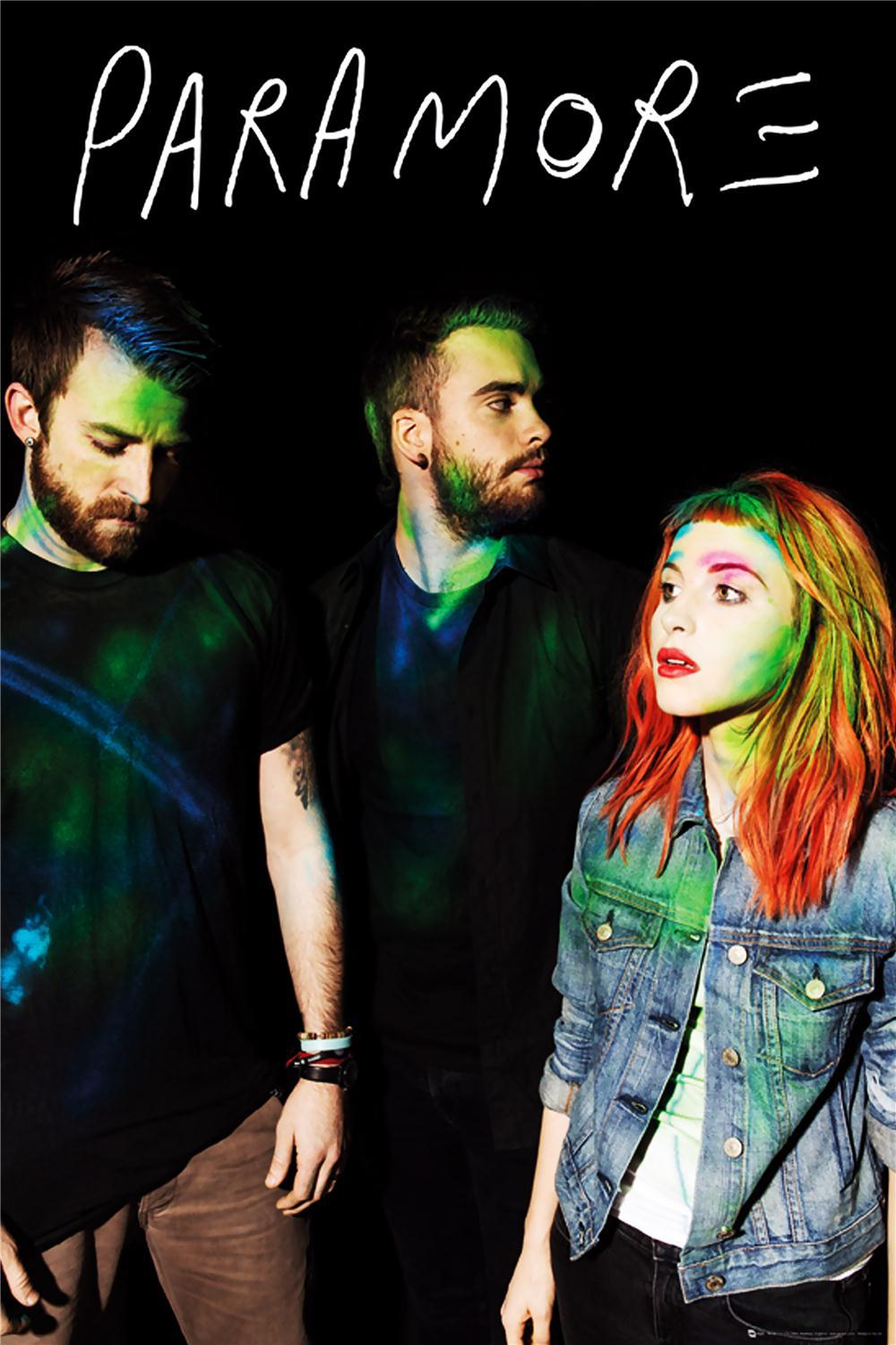 Google themes paramore - Paramore Home Decoration Classic Fashion Movie Style Custom Free Shipping Poster Print Size 40x60