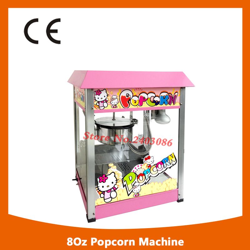 high quality snack equipment 80z hot air Electric Automatic Sweet Theater kettle Popcorn making Machine With CE Certificate fast food equipment automatic use popcorn machines for sale high quality use popcorn machines for sale caramel popcorn machine