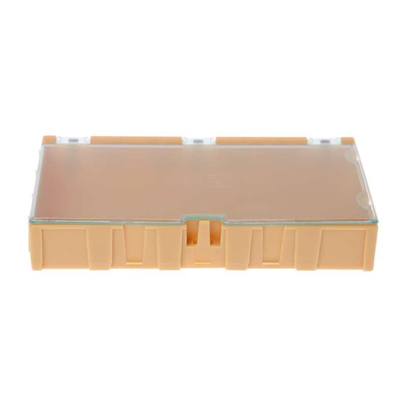 Mini SMD SMT Electronic Box IC Electronic Components Storage Cases 125x63x21mm Locks Automatically Plastic Organiser