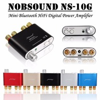 2016 Lastest Nobsound NS 10G Bluetooth 4 0 Mini Digital Amplifier Stereo HiFi Power Amp 50W