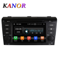 KANOR 8 Core Android 6 0 2G RAM Car DVD Video Player For Mazda 3 2004