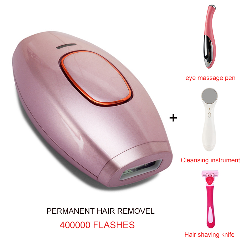 Painless IPL Laser Epilator Set Depilador Permanent Hair Removal Device Photoepilator 400000 Flashes Laser Hair Remover