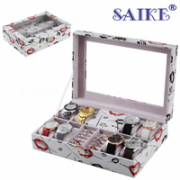 Big Size Watch And Jewelry Boxes Case New White Watch Storage Box New Ring Display Gift Box For Women M022