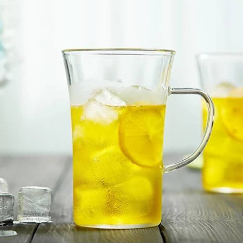 350ml Heat Resistant Glass cup,water,coffee,Home office Dinkware,pu'er/Dahongpao/Milk oolong/white tea - 3