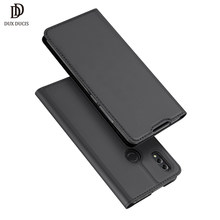 "DUX DUCIS PU Leather Flip Case for Huawei Honor 8X Luxury Wallet Phone Bags Cases on for Honor 8X 8 X honor8x 6.5"" Coque Cover(China)"