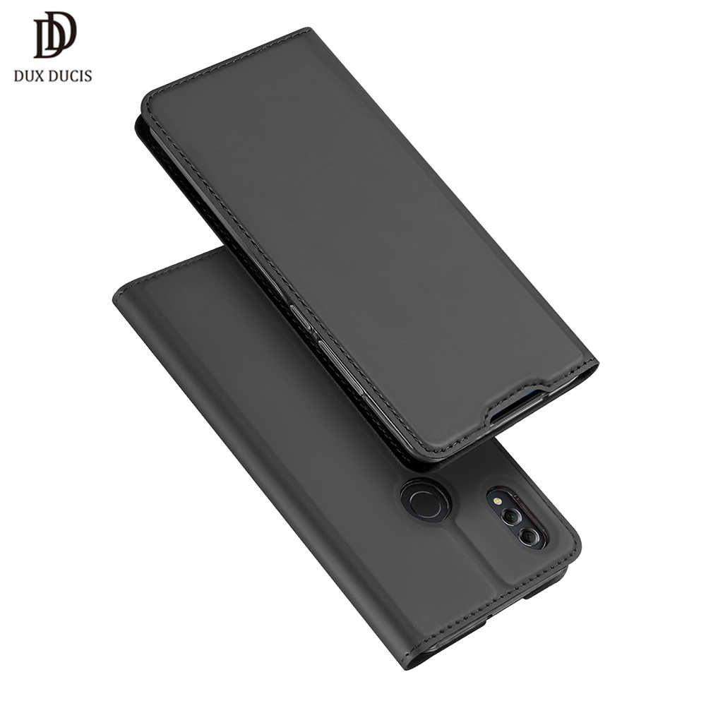"""DUX DUCIS PU Leather Flip Case for Huawei Honor 8X Luxury Wallet Phone Bags Cases on for Honor 8X 8 X honor8x 6.5"""" Coque Cover"""
