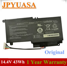 7XINbox 14.4V 43Wh 2838mAh PA5107U-1BRS Laptop bateria do toshiby z dostępem do kanałów satelitarnych L45 L45D L50 S55 P55 L55 L55T P50 P50-A P55 PA5107U