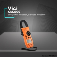 Vici CM 2016 Handheld Digital Clamp Meter Multimeter AC/DC Volt Current Voltage Ohm NCV Temperature Tester Resistance Ammeter