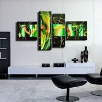 Hotselling Dropship wall art pittura su 4 pannelli gruppo pittura a olio su tela da NOAH ART Gallery store AE051