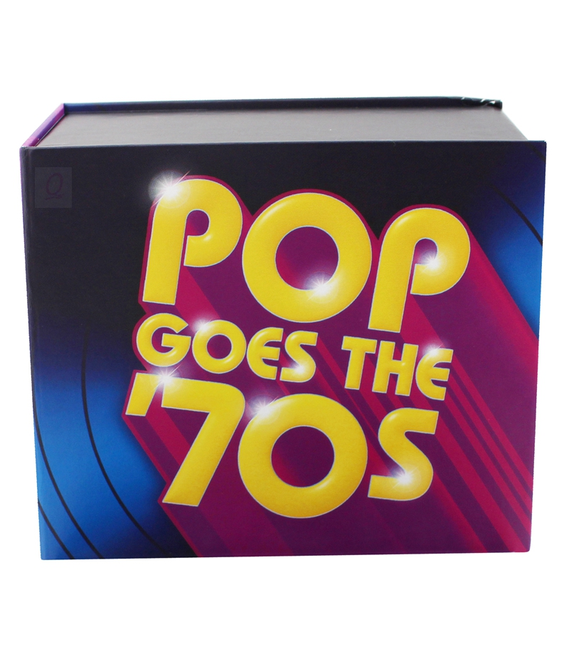 BWQ New CD Seal Time Life Pop Goes The 70s 10CD Disc Music Box Set By Various Artists Free Shipping In DVD Player Bags From Consumer Electronics On