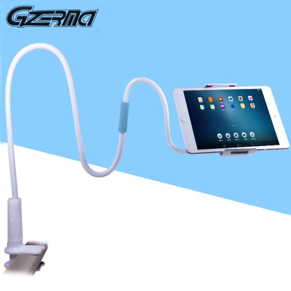 360 Degree Flexible Rotate Mobile Phone Holder Long Arm With Clip For IPhone For Tablet For Ipad Support Bracket Stand Holder