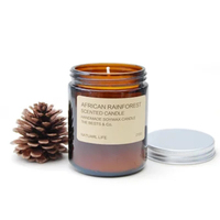 Jar Decorative Christmas Soy Candles Scented Aromatherapy Candles Aroma Candle Romantic Happy Birthday Velas Boda Gift 50KO363