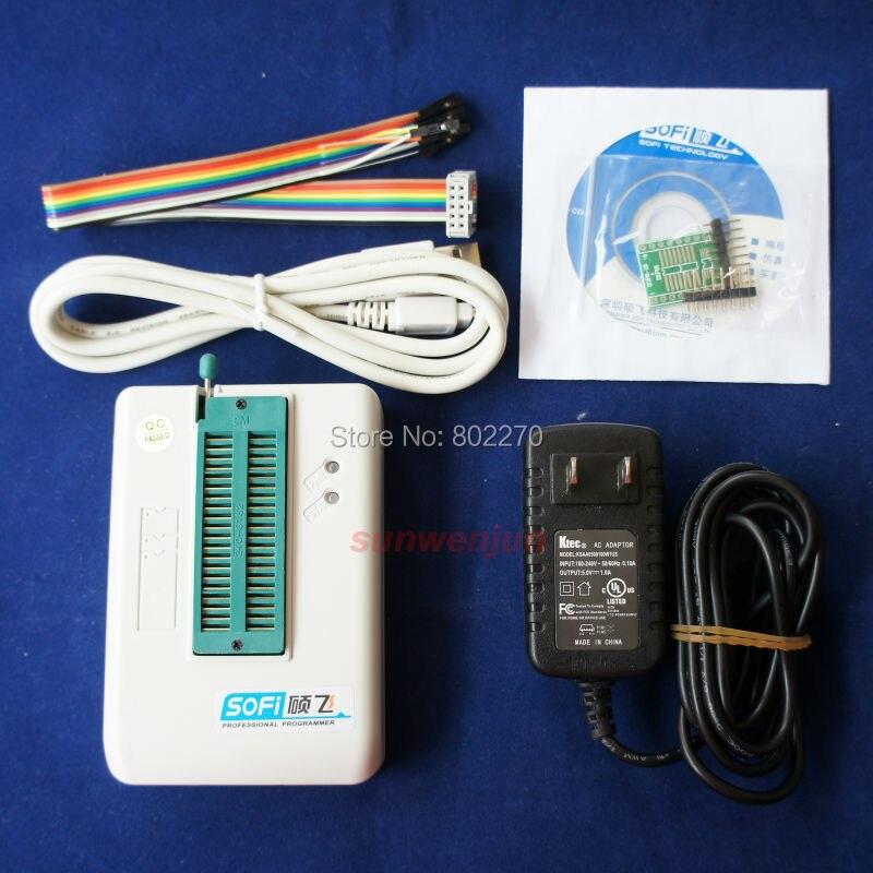 ФОТО SOFi SP8-F USB Programmer+offline programming EEPROM SPI BIOS support 5000+chip