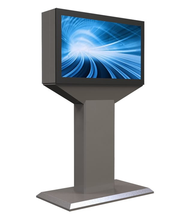 42 46 55 65 84 Inch Outdoor Waterproof Ad Digital Kiosk DIY Pc With Single/both Sided High Bright Lcd HD 1080p Display
