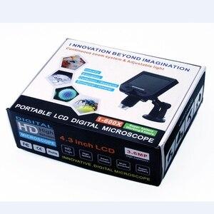 "Image 5 - 1 600x Digital Electronic Microscope Portable 3.6MP VGA Microscopes 4.3""HD LCD Pcb Motherboard Repair Endoscope Magnifier Camera"