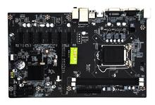 EastVita H81 PRO BTC Motherboard 6-GPU Mining Rig LGA1150 CPU DDR3 Memory Type High Speed USB3.0 Ports Computer PC Mainboard r20