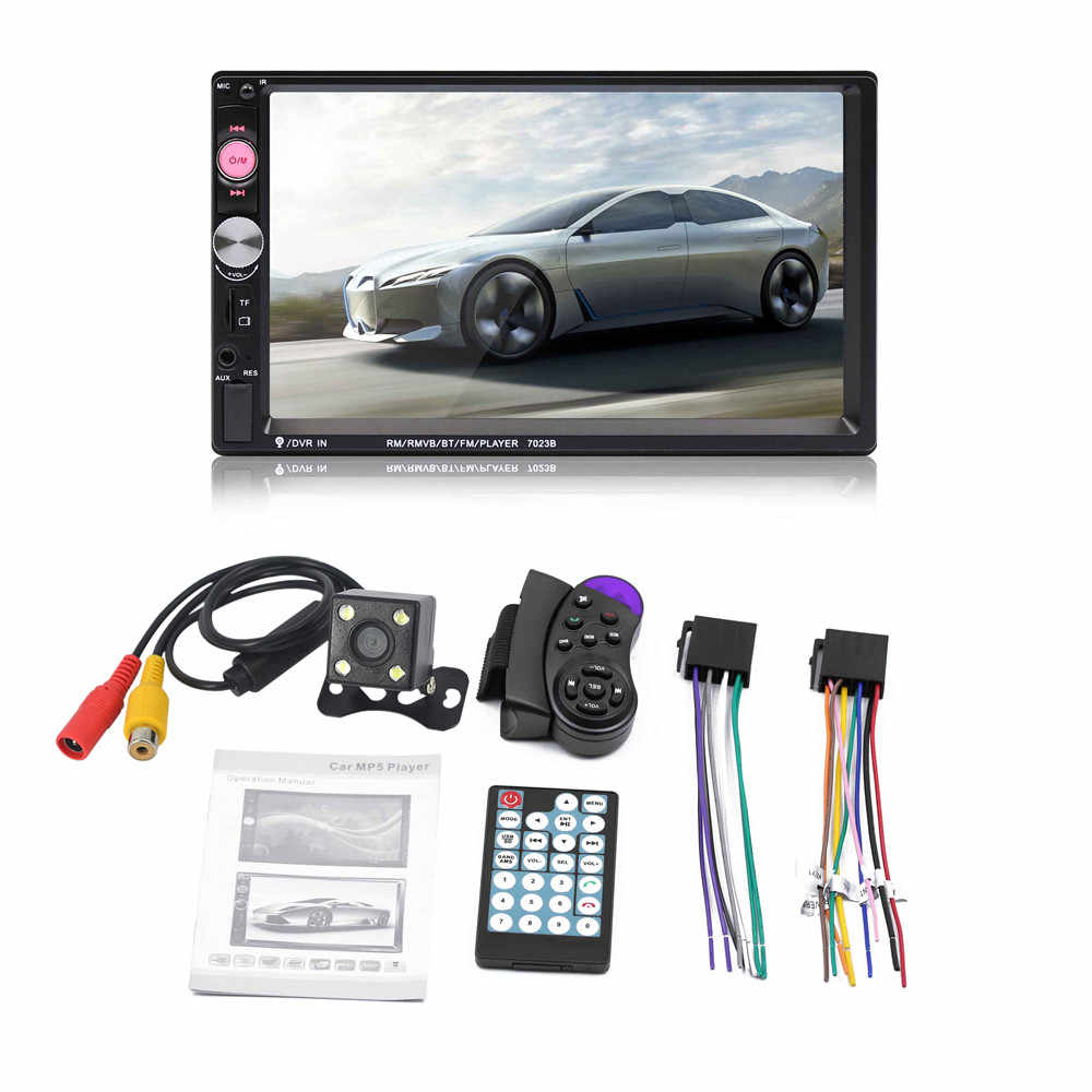 Detail Feedback Questions about 7012B 7 Inch TFT Screen Bluetooth