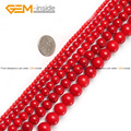 Round Red Coral Beads For Jewelry Making 2-25mm 15inches DIY Jewellery Necklace Bracelet FreeShipping Wholesale Gem-inside