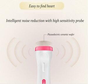 Image 5 - Doppler listen baby monitor fetal monitor right test medical no radiation pregnant women household quickened the stethoscope