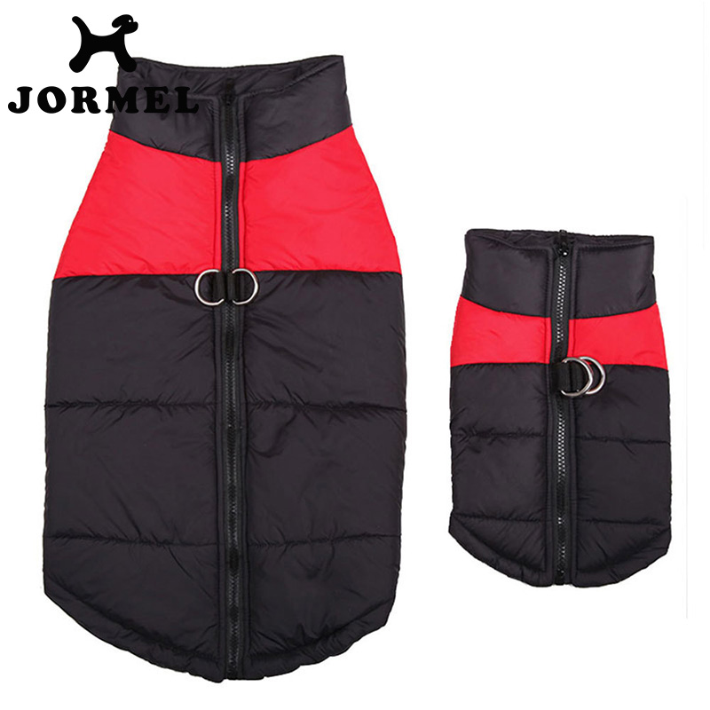 JORMEL 1pc Waterproof Pet Dog Vest Jacket  Puppy Clothing Warm Autumn Winter Clothes Coat For Small Medium Large Dogs