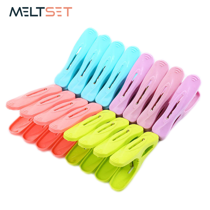 20pcs/lot Laundry Clothes Pins Hanging Pegs Clips Clothes Pegs Household Clamps Quilt Socks Underwear Drying Rack Holder